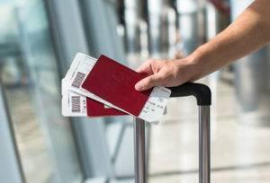 Паспорта и билеты на самолет