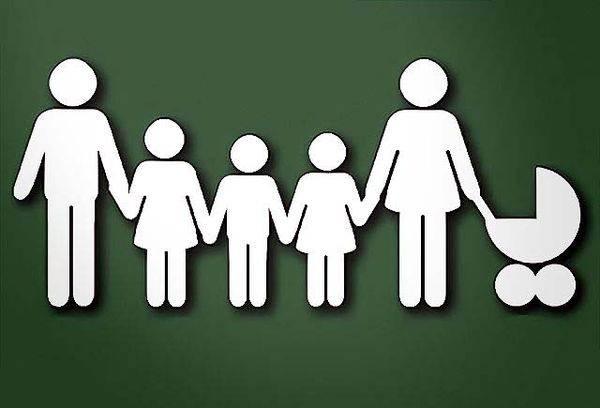 Многодетная семья иконка