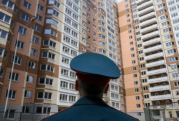 Военный в жилом комплексе