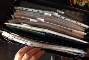 Портфель с документами