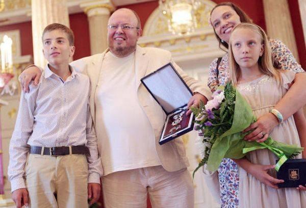 Семья получившая орден
