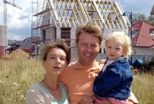 Строительство дома для молодой семьи