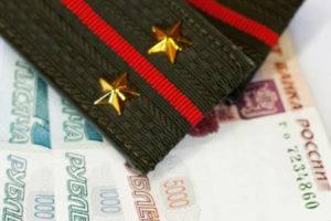 Выплата военнослужащему