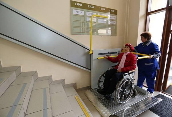 Подъемник для инвалидов в жилом доме