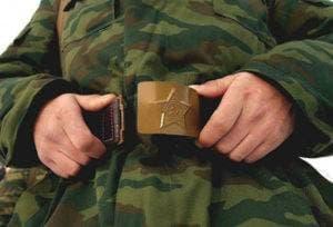 Солдат армии РФ