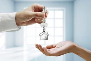 Передача ключей от дома