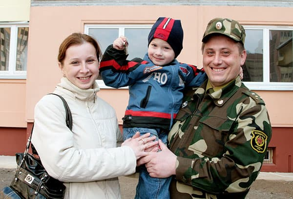 Переезд семьи военного