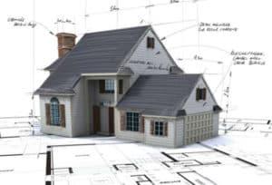 Модель частного дома