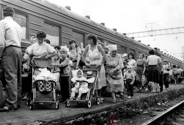 Эвакуация из Чернобыля