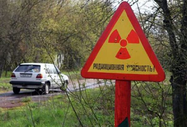 Зона заражения в Чернобыле