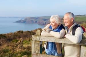 Пенсионеры на отдыхе