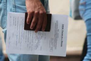 Подача документов в УФМС