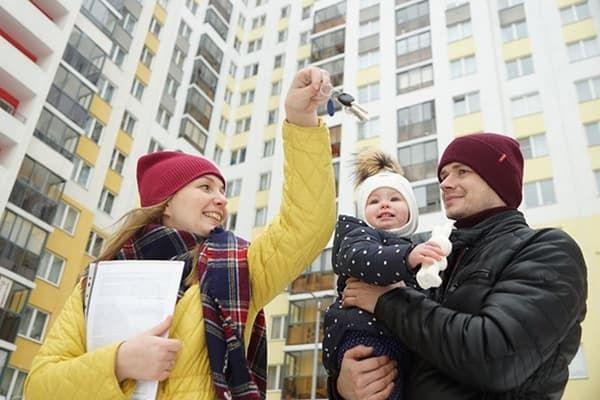 Молодая семья купила квартиру
