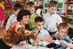 Творческое занятие с детьми
