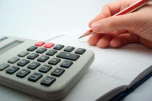 Расчет с помощью калькулятора