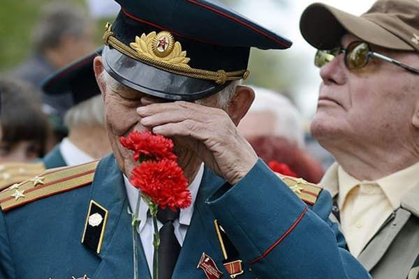 Ветеран ВОВ на празднике Победы